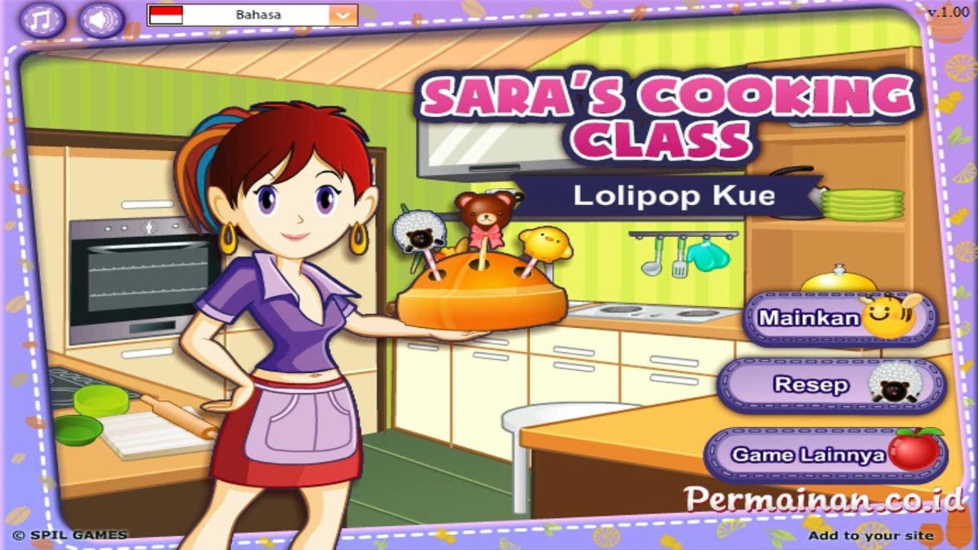 Permainan Lolipop Kue Kelas Memasak Sara Mainan Anak Perempuan Masak Masakan Online Video Dailymotion