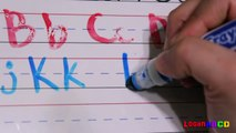 Learn How to write ABC Letter Alphabets | ABC Phonics and ABC Song