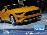 Ford Mustang en direct du Salon de Francfort 2017