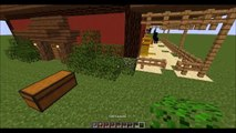 How to build a Horse Stable or Barn - Minecraft Tutorial
