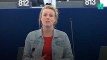 Devant le parlement européen, cette députée a raconté son agression sexuelle