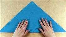 Servietten falten: Schleppe bzw. Rakete - einfache DIY Tischdeko zur Hochzeit basteln