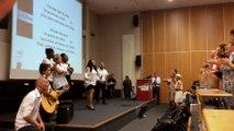 Réunion d'accueil des personnels enseignants, enseignants documentalistes et CPE stagiaires avec Gospel Fusion