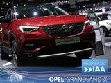 Opel Grandland X en direct du Salon de Francfort 2017