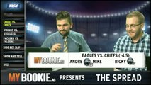 The Spread: Eagles Vs. Chiefs A Close Matchup