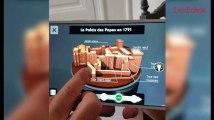 Visite en réalité virtuelle du Palais des Papes d'Avignon