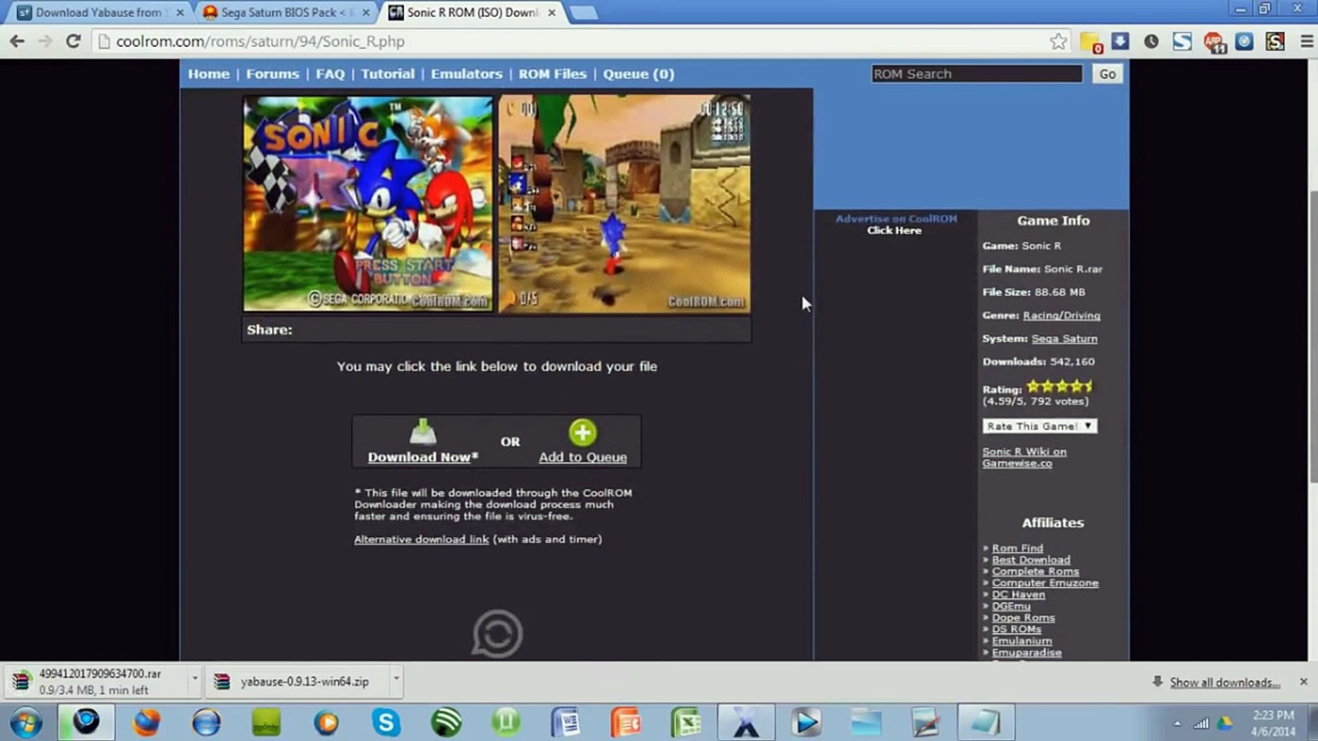 How to get a Sega Saturn Emulator on your PC (Voice Tutorial)