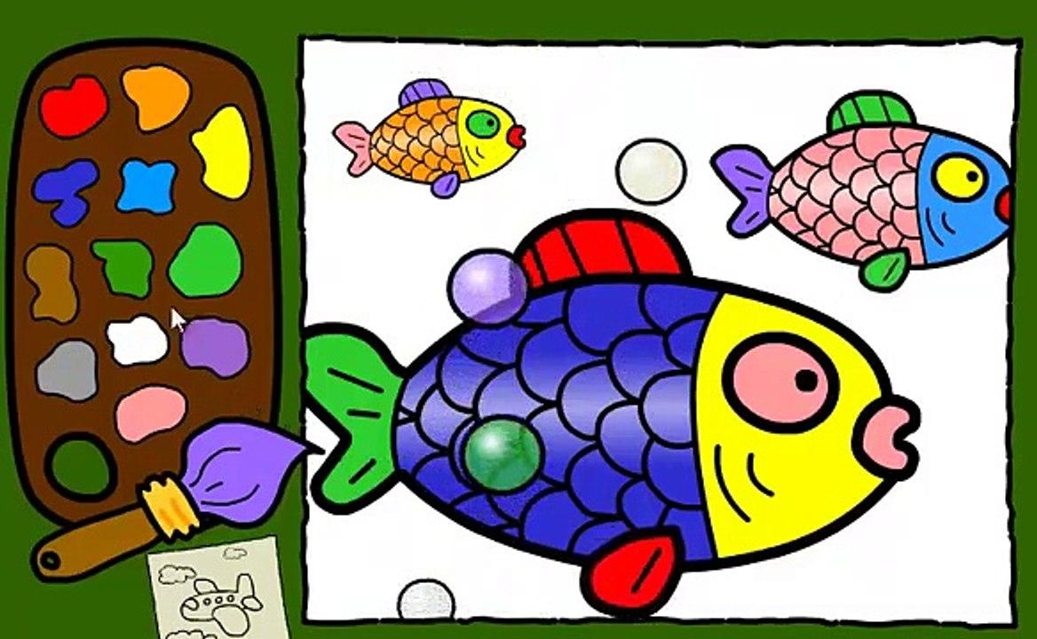 Boyama Oyunu Oyna Renkleri Ogreniyorum Boyama Sayfasi Boyamalar