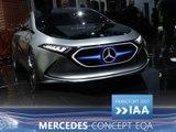 Mercedes Concept EQA en direct du Salon de Francfort 2017