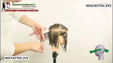 Video Dạy Cắt Tóc, Combination Design Cut Salon Work (Phần 9)
