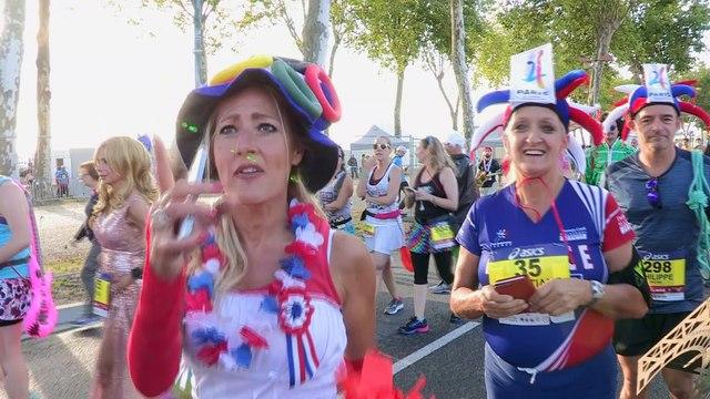 Replay Avant départ 4 Marathon du Médoc 2017 / replay starting line 4 Medoc Marathon