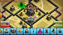 Clash of Clans - NEW TH7 WAR BASE! 3 AIR DEFENSE UPDATE TOWN HALL 7 ANTI- DRAGON WAR BASE