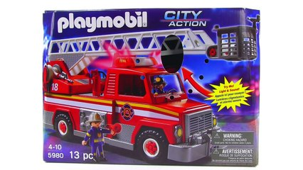 Playmobil City Action Rescue Ladder review! set 5980