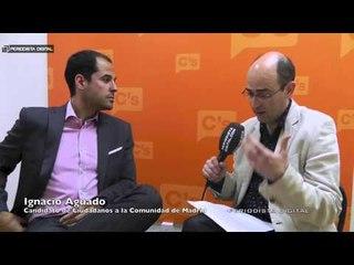 Ignacio Aguado, candidato de Ciudadanos a la Comunidad de Madrid. 22-4-2015
