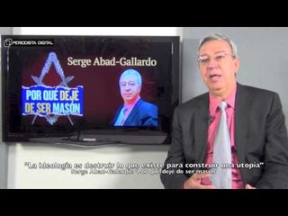 Serge Abad-Gallardo, autor de 'Por qué dejé de ser masón'. 16-4-2015