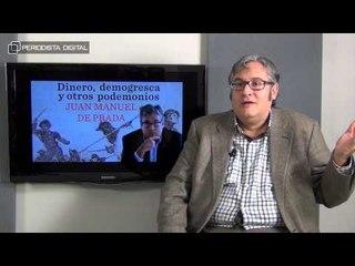 Juan Manuel de Prada, autor de 'Dinero, Demogrecas y otros Podemonios'. 22-4-2015