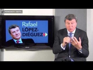 Rafael López Diéguez, candidato de Alternativa Española a la Comunidad de Madrid. 21-5-2015