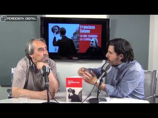 Francisco Solano, autor de 'Lo que escucha la lluvia'. 20-5-2015