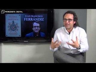 """Juan Francisco Ferrándiz, autor de """"La llama de la sabiduría"""". 22-5-2015"""
