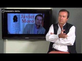 Javier Moro, autor de 'A flor de piel'. 28-5-2015