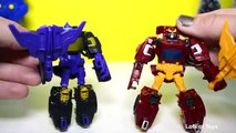 Decepticon Skywarp vs Rodimus Autobot Transformers Combiner Wars, Generations, Toy Unboxing