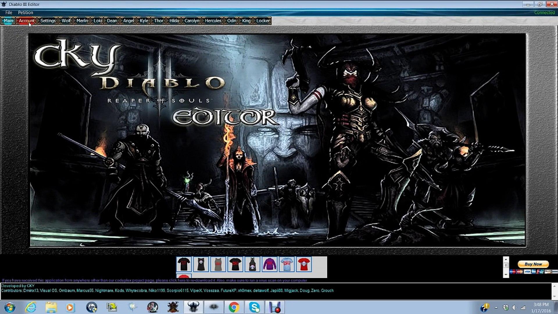 Diablo 3 save editor ps4