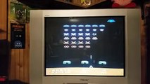 Atari 5200 Space Invaders gameplay