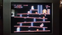 Atari 5200 Donkey Kong gameplay