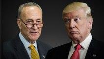Chuck Schumer Caught on Hot Mic on Senate Floor