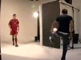 Exclusive ! Behind the scenes Ronaldo footage