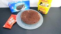 | Pastel de nieve | pastel chocolate, oreo, kit kat, nieve, cookies and cream | ice cream cake