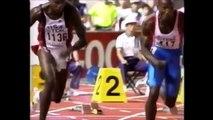 カール・ルイス Carl Lewis 100m 9.86 August 25, 1991 世界記録 world record