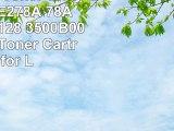 Renewable Toner Universal HP CE278A 78A Canon CRG128 3500B001AA MICR Toner Cartridge for