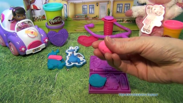 DOC MCSTUFFINS PLAY-DOH Disney Junior Doc McStuffins Doctor Kit a Doc McStuffins Play Doh Toy