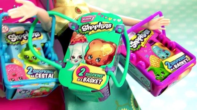 Anna Elsa Barbie Glam Refrigerator Dreamhouse Review Shopkins Surprise Disney Frozen Toys