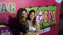 Rekha Bipasha Basu Shilpa Shetty Farah Khan Shamita Shetty At The Premiere Of  Yo Ke Hua Bro