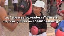 """Las """"abuelas boxeadoras"""" dan sus mejores golpes en Johannesburgo"""