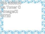 Renewable Toner Canon 118 CRG118M 2660B001AA Magenta Toner Cartridge for ImageClass