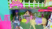 Poupée cheval les chevaux dans vie comme comme sur réal vraiment balade selle oscillations des promenades Barbie n playset