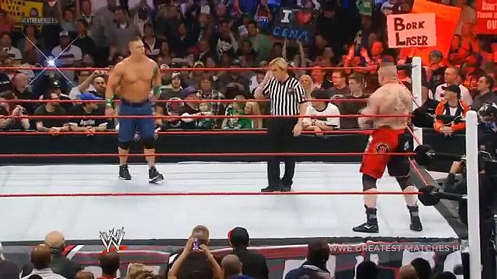 WWE 2017 - WWE Extreme Rules 4th June 2017 Jhon Cena Vs Brock Lesnar - Heavyweight WWE Championship