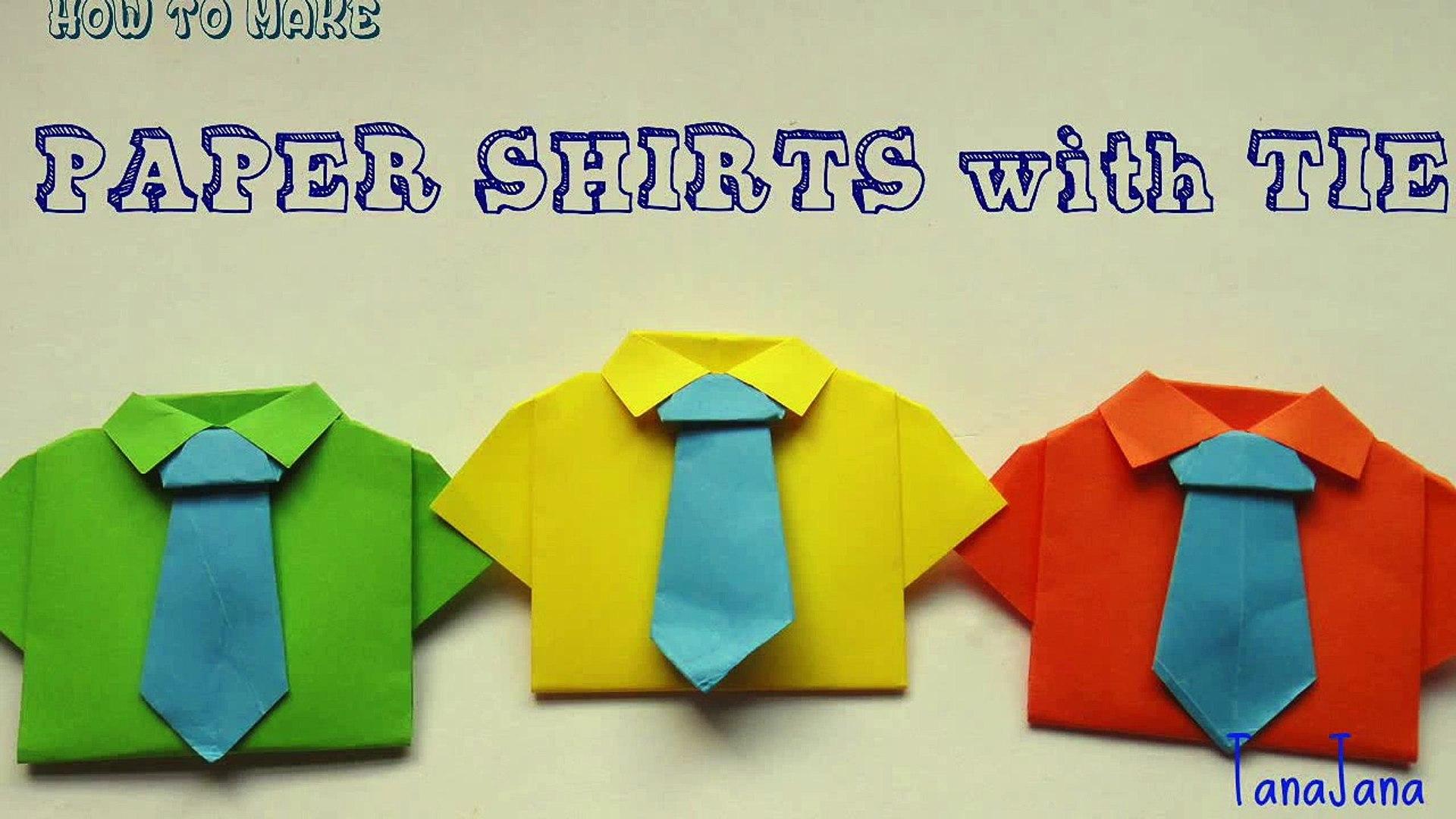 Super Easy Origami Shirt Folding Instructions | 1080x1920