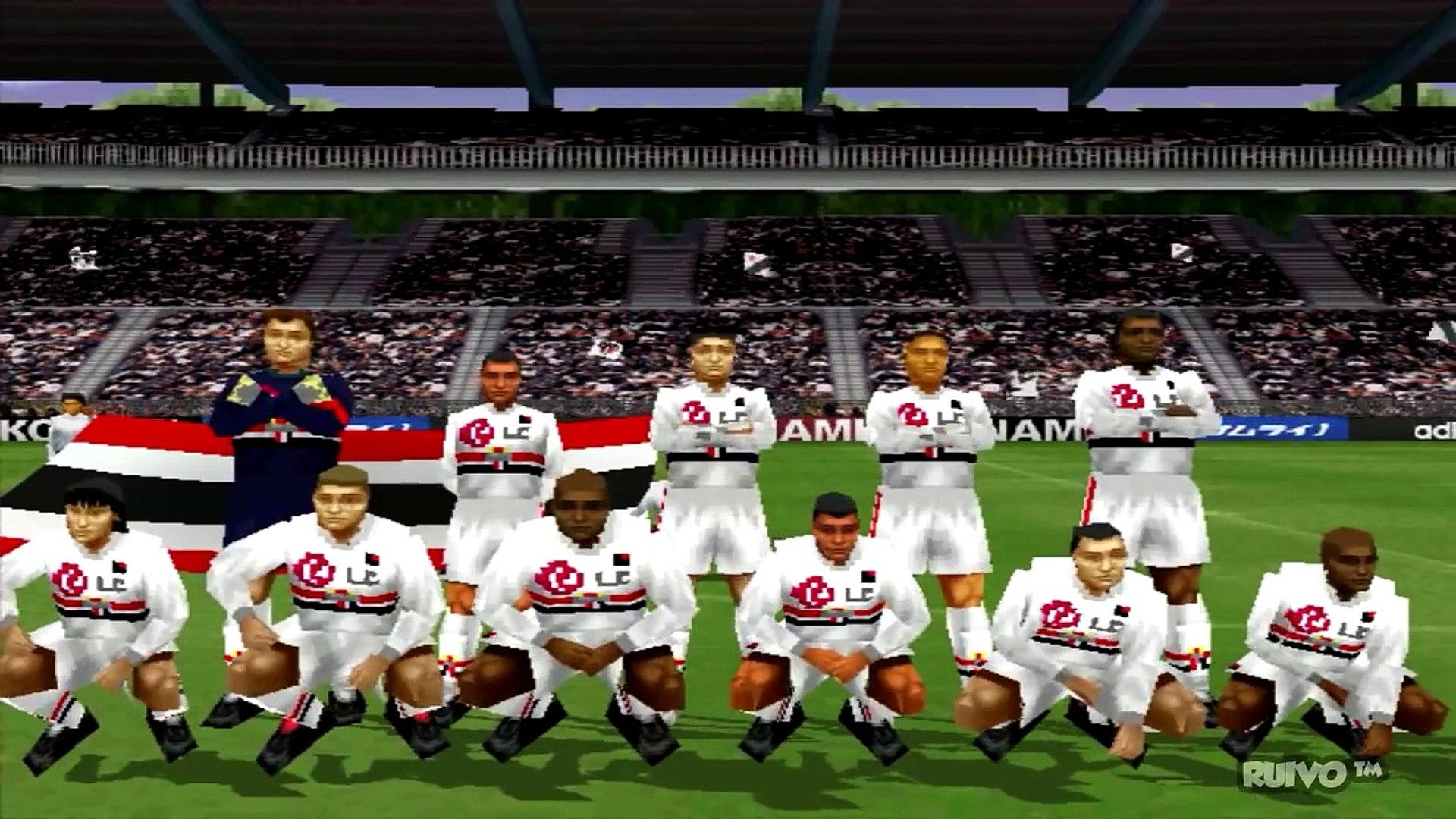 Campeonato Brasileiro 2005 (WE2002) no Playstation 1 / PS1