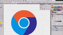 [TUTO] Create Google Chrome Logo   Adobe Illustrator   1080p HD