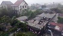 Hà Tĩnh_ Gió vần vũ, mưa ngút trời trước giờ bão đổ...