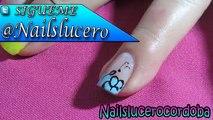 Decoracion De Uñas Mariposa Y Flores - Como Pintar Mariposas Y Flores - Butterfly Nail Art| NLC