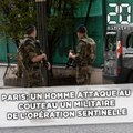 Paris: Un militaire de la force Sentinelle agressé à Châtelet-les-Halles