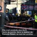 """Explosion dans le métro de Londres: """"un acte terroriste"""" selon la police"""