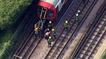 Passengers evacuated from nearby underground train