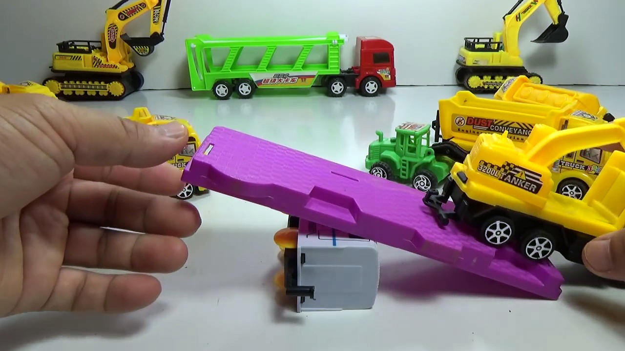 Baby Studio – trucks game   trucks toy   trucks for kids