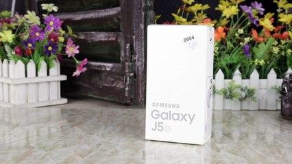 Mở hộp và Trên tay nhanh Samsung Galaxy J5 2016 | Thế giới di động